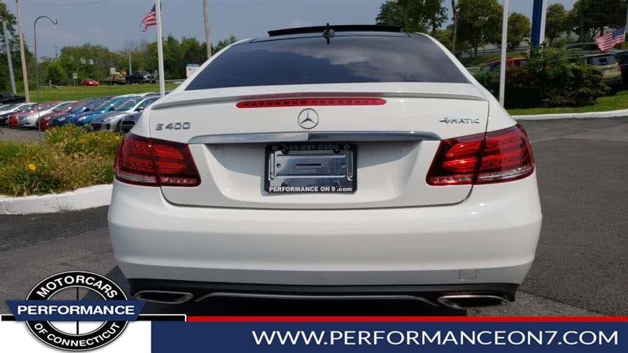 2015 Mercedes-Benz E-Class 2dr Cpe E 400 4MATIC, available for sale in Wilton, Connecticut | Performance Motor Cars. Wilton, Connecticut