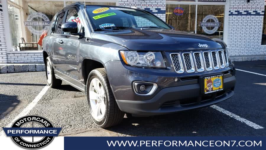 Used Jeep Compass 4WD 4dr Latitude 2015 | Performance Motor Cars. Wilton, Connecticut