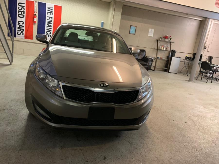 2013 Kia Optima 4dr Sdn EX, available for sale in Danbury, Connecticut | Safe Used Auto Sales LLC. Danbury, Connecticut