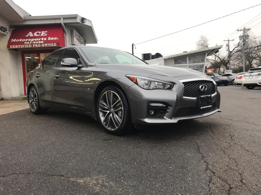 2015 Infiniti Q50S 4dr Sdn Premium AWD, available for sale in Plainview , New York | Ace Motor Sports Inc. Plainview , New York