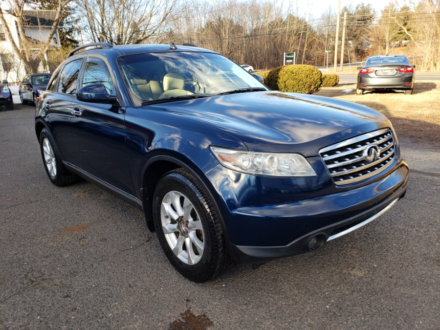 2006 INFINITI FX35 4dr AWD, available for sale in East Windsor, Connecticut | Toro Auto. East Windsor, Connecticut