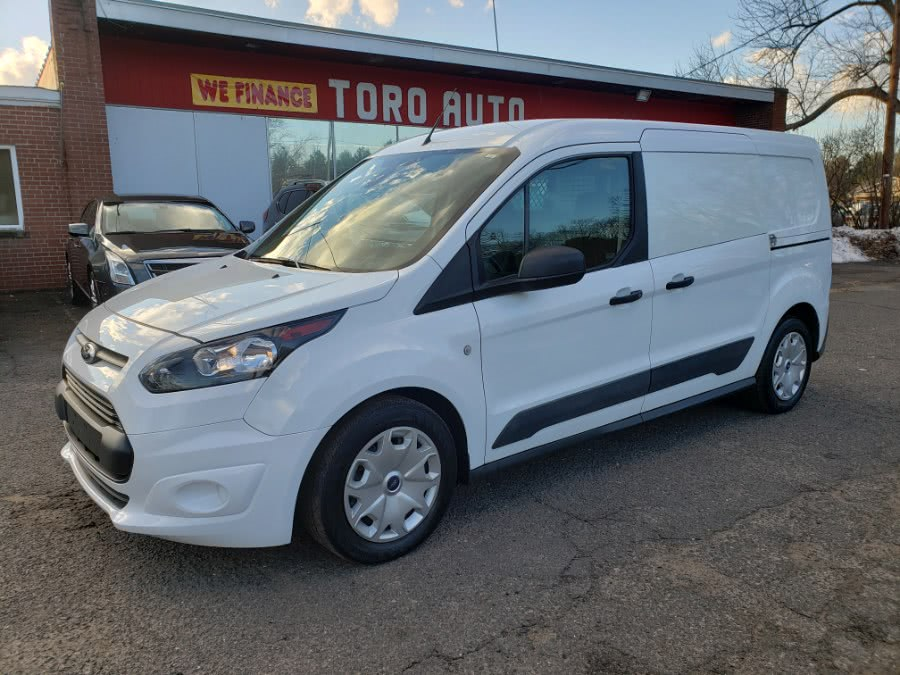2017 Ford Transit Connect Van XLT LWB w/Rear Cargo Doors Camera W/ shelfs, available for sale in East Windsor, CT