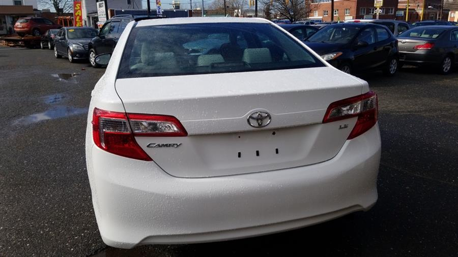 2012 Toyota Camry 4dr Sdn I4 Auto LE (Natl), available for sale in Manchester, Connecticut | Best Auto Sales LLC. Manchester, Connecticut