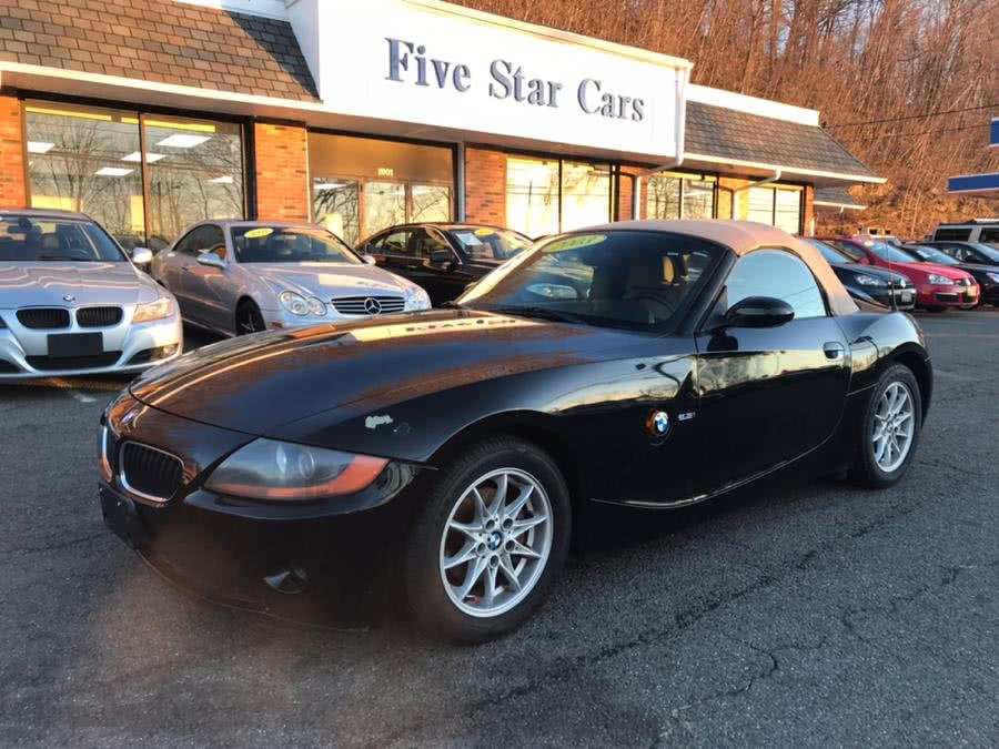 Used BMW Z4 Z4 2dr Roadster 2.5i 2003 | Five Star Cars LLC. Meriden, Connecticut