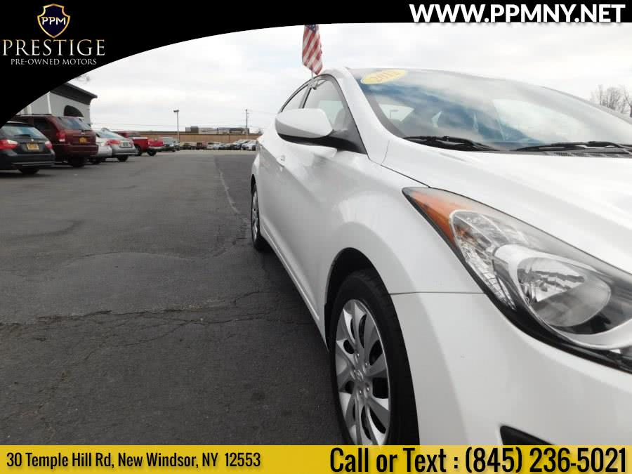 2012 Hyundai Elantra 4dr Sdn Auto GLS, available for sale in New Windsor, New York | Prestige Pre-Owned Motors Inc. New Windsor, New York