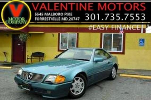 1991 Mercedes-benz 300 Series 300SL, available for sale in Forestville, Maryland | Valentine Motor Company. Forestville, Maryland