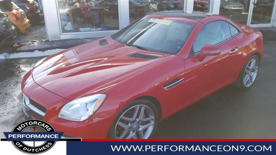 2015 Mercedes-Benz SLK-Class 2dr Roadster SLK 250, available for sale in Wappingers Falls, New York | Performance Motorcars Inc. Wappingers Falls, New York