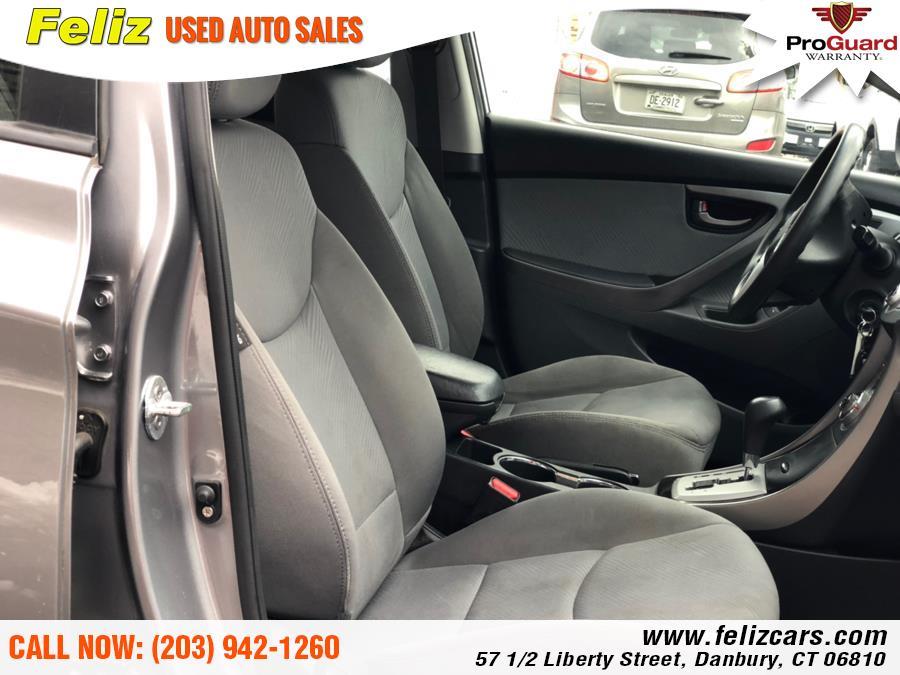 2012 Hyundai Elantra 4dr Sdn Auto GLS, available for sale in Danbury, Connecticut | Feliz Used Auto Sales. Danbury, Connecticut