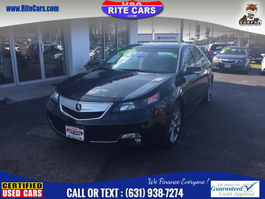 2012 Acura TL 4dr Sdn Auto SH-AWD Advance, available for sale in Lindenhurst, New York | Rite Cars, Inc. Lindenhurst, New York