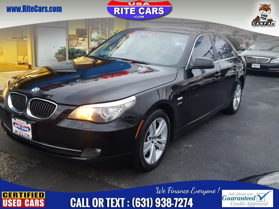 2010 BMW 5 Series 4dr Sdn 528i xDrive AWD, available for sale in Lindenhurst, New York | Rite Cars, Inc. Lindenhurst, New York