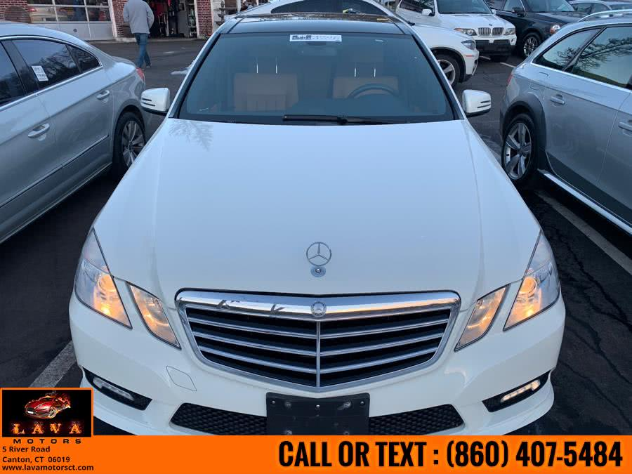 Used 2011 Mercedes-Benz E-Class in Canton, Connecticut | Lava Motors. Canton, Connecticut