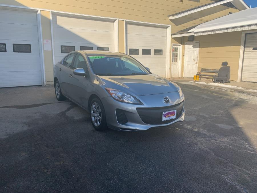 2013 Mazda Mazda3 4dr Sdn Auto i SV, available for sale in Barre, Vermont | Routhier Auto Center. Barre, Vermont
