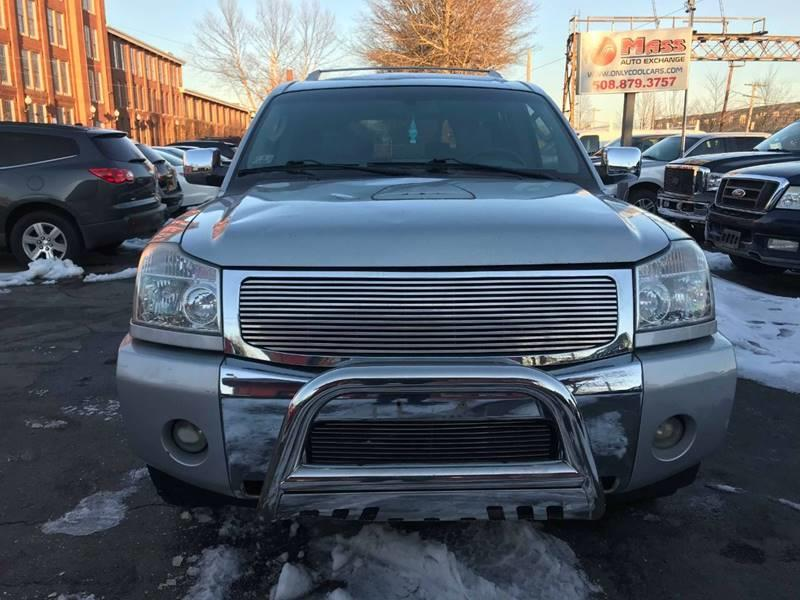 Used Nissan Armada LE 4WD 4dr SUV 2005 | Mass Auto Exchange. Framingham, Massachusetts