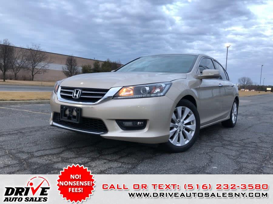 Used Honda Accord Sedan 4dr I4 CVT EX-L 2014 | Drive Auto Sales. Bayshore, New York