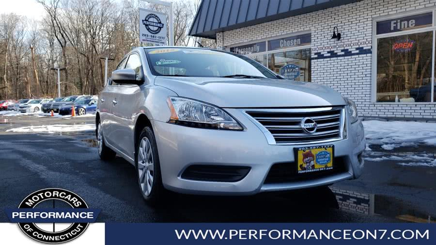 Used 2015 Nissan Sentra in Wilton, Connecticut | Performance Motor Cars. Wilton, Connecticut