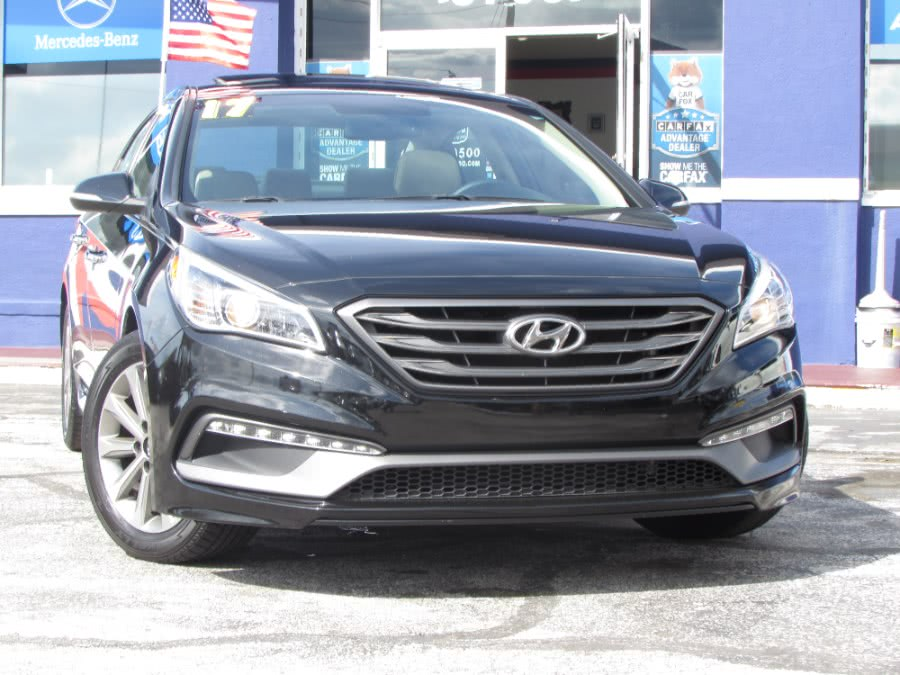 Used Hyundai Sonata Sport 2.4L 2017 | VIP Auto Enterprise, Inc. Orlando, Florida