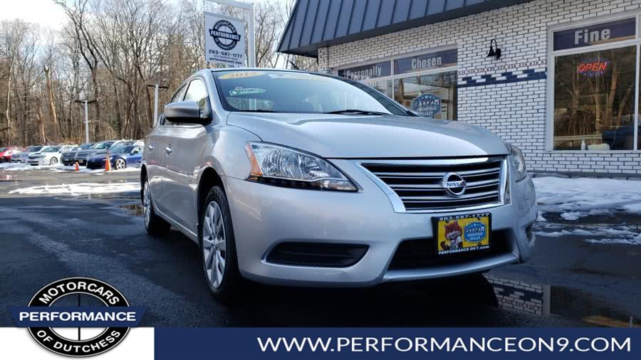 Used Nissan Sentra 4dr Sdn I4 CVT S 2015 | Performance Motorcars Inc. Wappingers Falls, New York