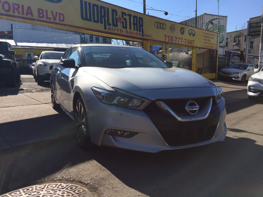 Used 2016 Nissan Maxima in Astoria, New York | World Star Auto Sales . Astoria, New York