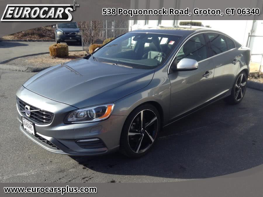2016 Volvo S60 4dr Sdn T5 Drive-E R-Design Special Edition FWD, available for sale in Groton, Connecticut | Eurocars Plus. Groton, Connecticut