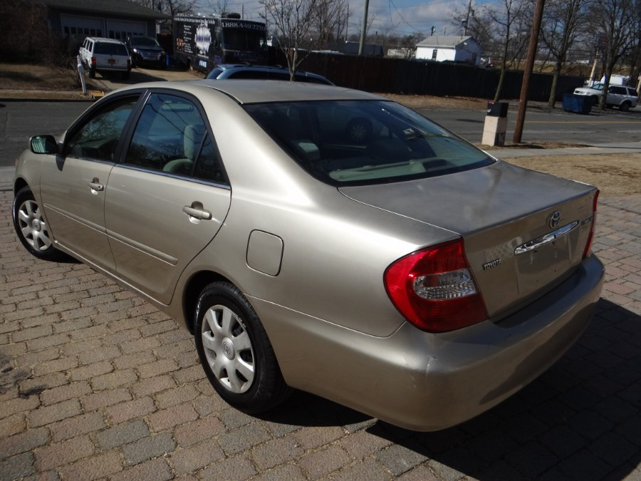 2003 Toyota Camry 4dr Sdn LE Auto, available for sale in West Babylon, New York | SGM Auto Sales. West Babylon, New York