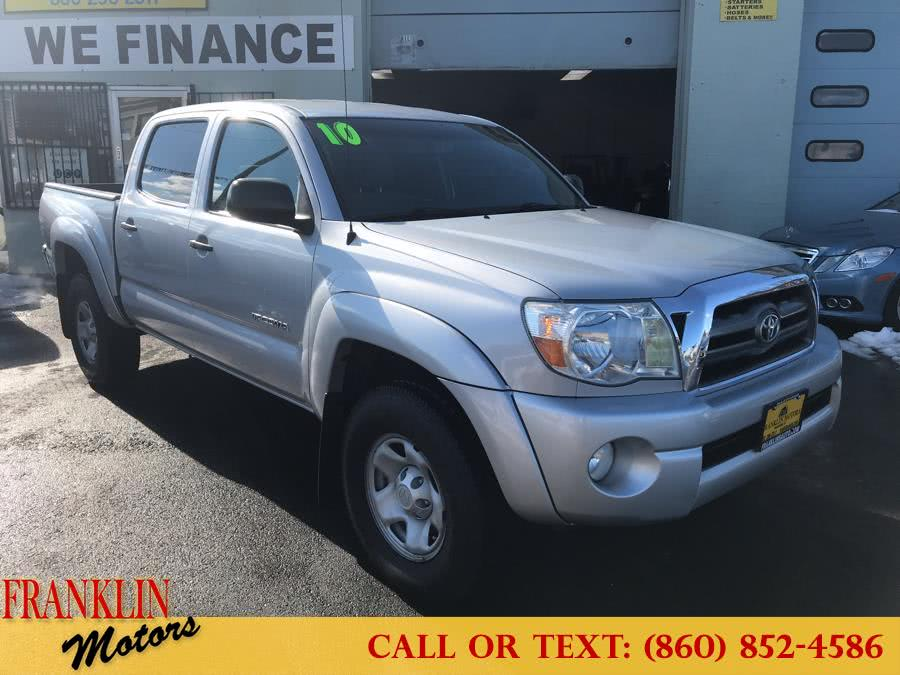 2010 Toyota Tacoma 4WD Double V6 AT, available for sale in Hartford, CT