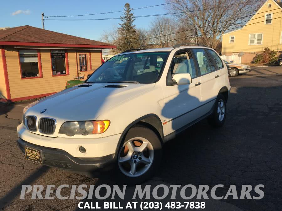 Used BMW X5 X5 4dr AWD 3.0L 2001 | Precision Motor Cars LLC. Branford, Connecticut