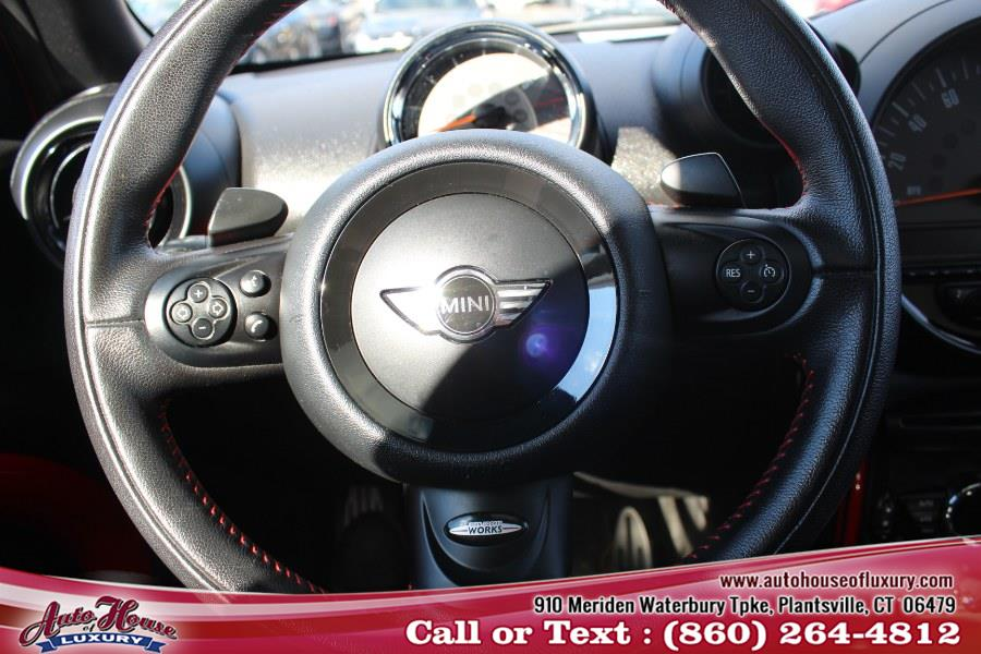 Used MINI Cooper Countryman AWD 4dr John Cooper Works ALL4 2013 | Auto House of Luxury. Plantsville, Connecticut