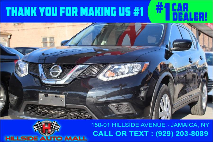 2016 Nissan Rogue AWD 4dr S, available for sale in Jamaica, New York | Hillside Auto Mall Inc.. Jamaica, New York
