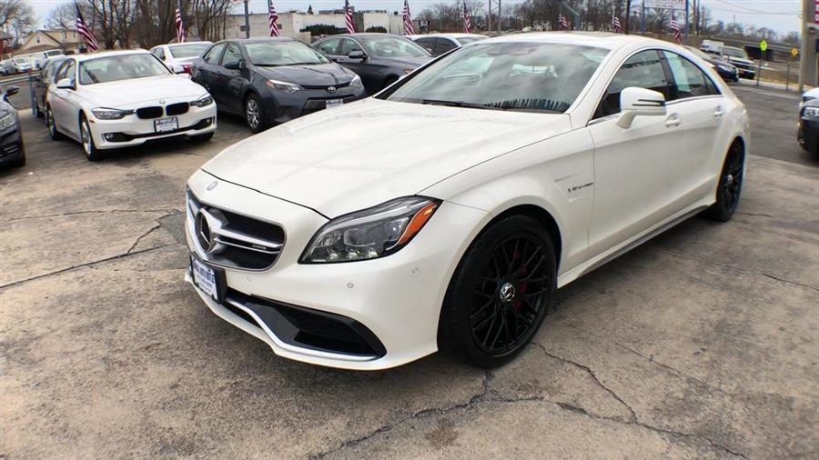2015 Mercedes-Benz CLS-Class 4dr Sdn CLS 63 AMG S-Model 4MATIC, available for sale in Jamaica, New York | Hillside Auto Mall Inc.. Jamaica, New York
