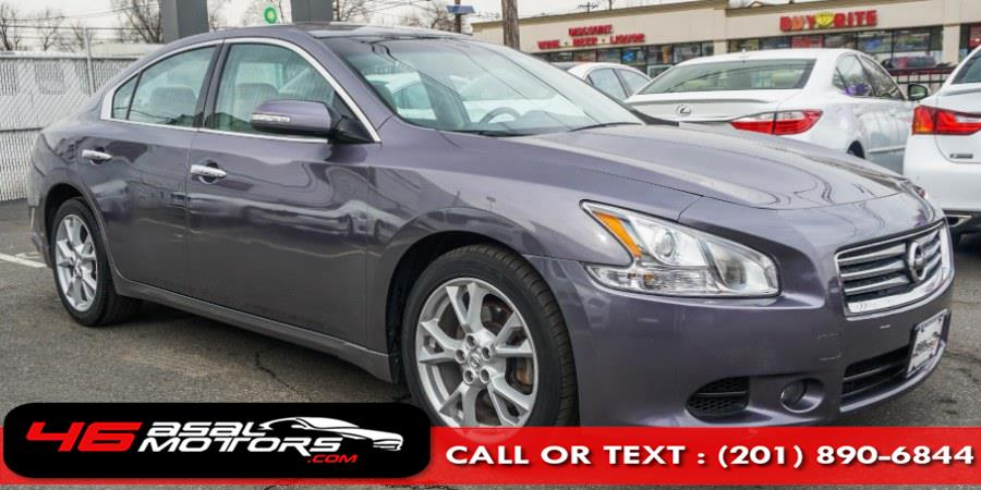 2014 Nissan Maxima 4dr Sdn 3.5 SV w/Premium Pkg, available for sale in East Rutherford, New Jersey | Asal Motors. East Rutherford, New Jersey