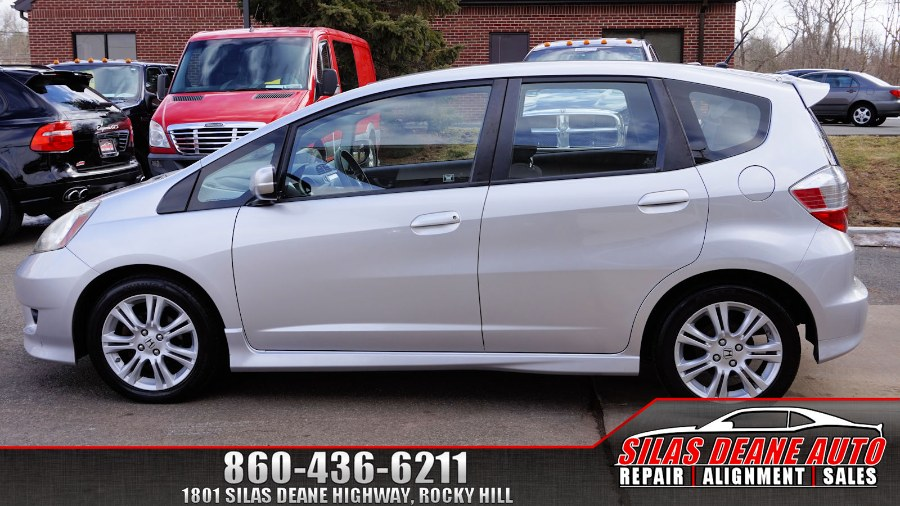 2011 Honda Fit 5dr HB Auto Sport, available for sale in Rocky Hill , Connecticut | Silas Deane Auto LLC. Rocky Hill , Connecticut
