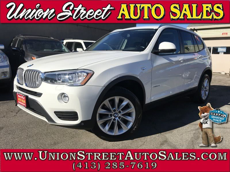 2015 BMW X3 AWD 4dr xDrive28i, available for sale in West Springfield, Massachusetts | Union Street Auto Sales. West Springfield, Massachusetts