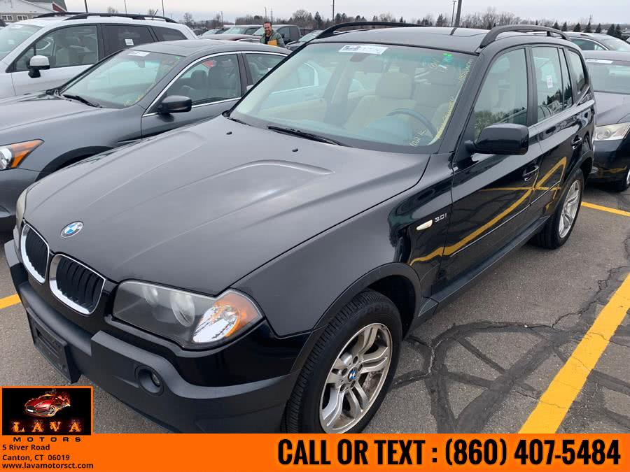 Used 2004 BMW X3 in Canton, Connecticut | Lava Motors. Canton, Connecticut