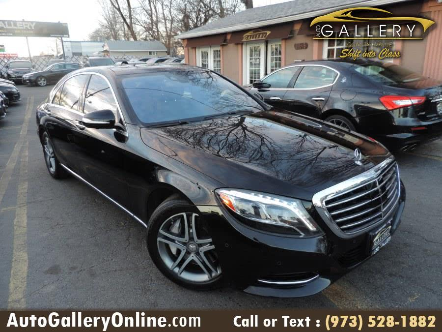 Used Mercedes-Benz S-Class 4dr Sdn S 550 4MATIC 2016 | Auto Gallery. Lodi, New Jersey