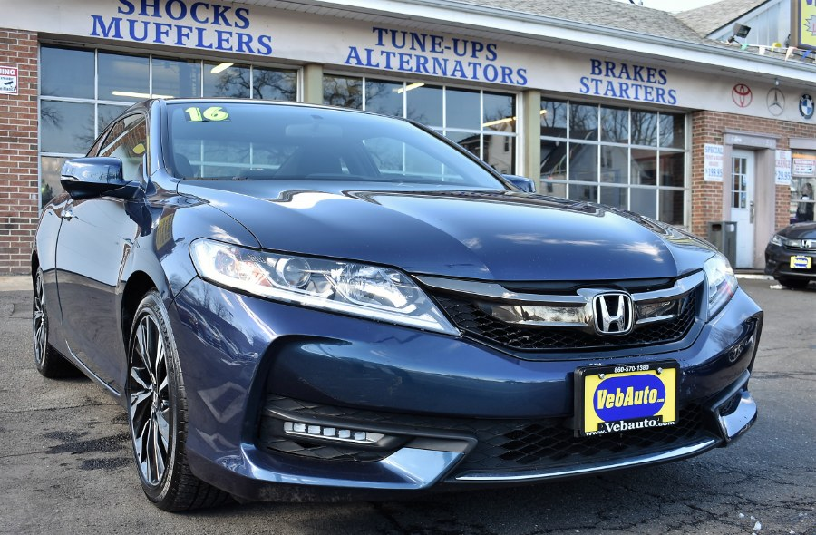 2016 Honda Accord Coupe 2dr I4 CVT EX, available for sale in Hartford, Connecticut | VEB Auto Sales. Hartford, Connecticut