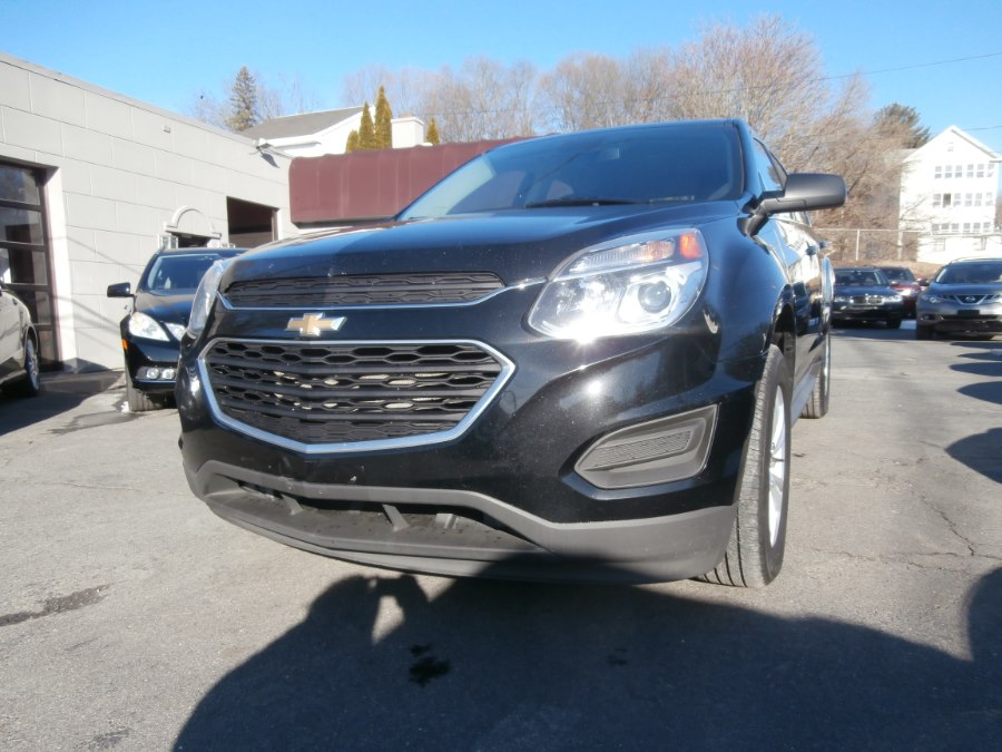 2017 Chevrolet Equinox AWD 4dr LS, available for sale in Waterbury, Connecticut | Jim Juliani Motors. Waterbury, Connecticut
