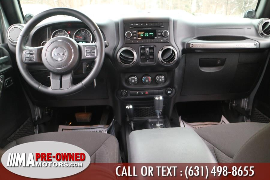 2014 Jeep Wrangler Unlimited 4WD 4dr Sport, available for sale in Huntington, New York | M & A Motors. Huntington, New York