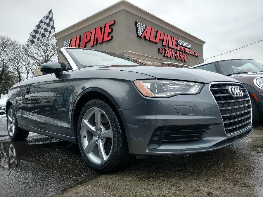 2015 Audi A3 2dr Cabriolet quattro 2.0T Premium, available for sale in Wantagh, New York   Alpine Motors Inc. Wantagh, New York