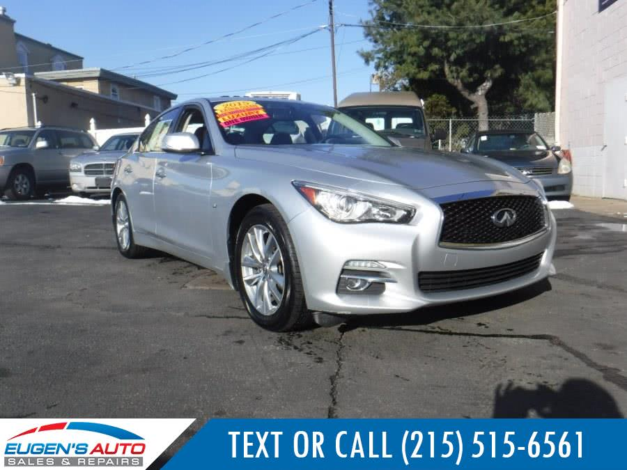 Used 2015 INFINITI Q50 in Philadelphia, Pennsylvania | Eugen's Auto Sales & Repairs. Philadelphia, Pennsylvania