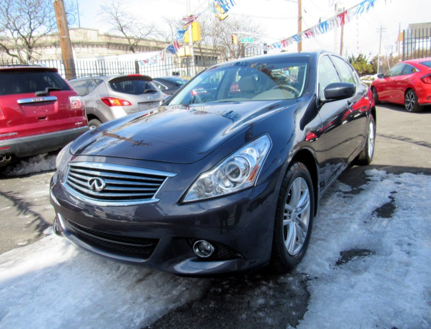 2012 Infiniti G37 Sedan 4dr x AWD, available for sale in Paterson, New Jersey | MFG Prestige Auto Group. Paterson, New Jersey