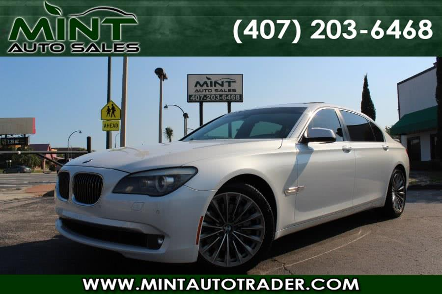2011 BMW 7 Series 740Li w/NAV 4dr Sdn Auto, available for sale in Orlando, FL