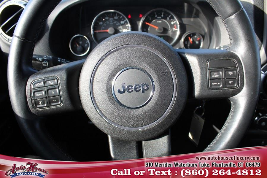 2013 Jeep Wrangler Unlimited 4WD 4dr Sahara, available for sale in Plantsville, Connecticut | Auto House of Luxury. Plantsville, Connecticut