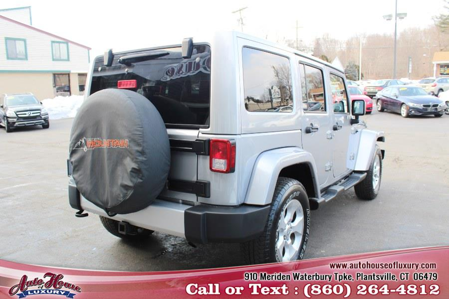 Used Jeep Wrangler Unlimited 4WD 4dr Sahara 2013 | Auto House of Luxury. Plantsville, Connecticut