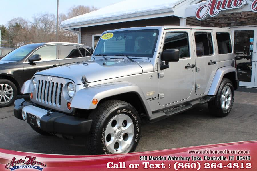 Used 2013 Jeep Wrangler Unlimited in Plantsville, Connecticut | Auto House of Luxury. Plantsville, Connecticut