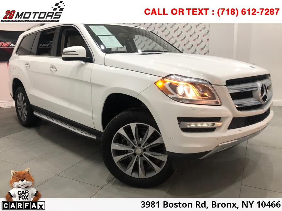 2016 Mercedes-Benz GL 4MATIC 4dr GL450, available for sale in Bronx, New York | 26 Motors Corp. Bronx, New York