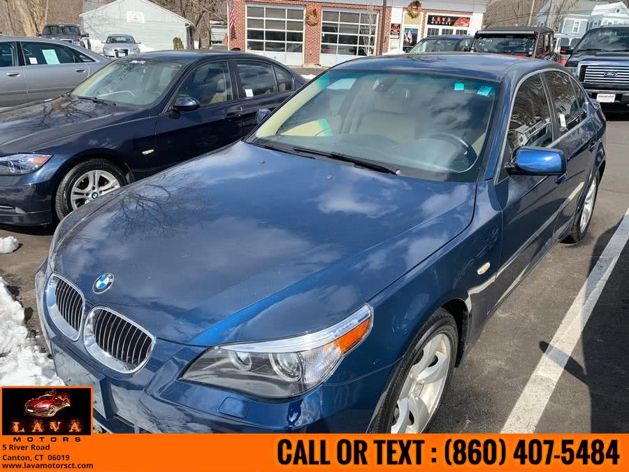 Used 2007 BMW 5 Series in Canton, Connecticut | Lava Motors. Canton, Connecticut