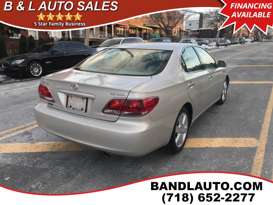 2005 Lexus ES 330 4dr Sdn, available for sale in Bronx, New York   B & L Auto Sales LLC. Bronx, New York