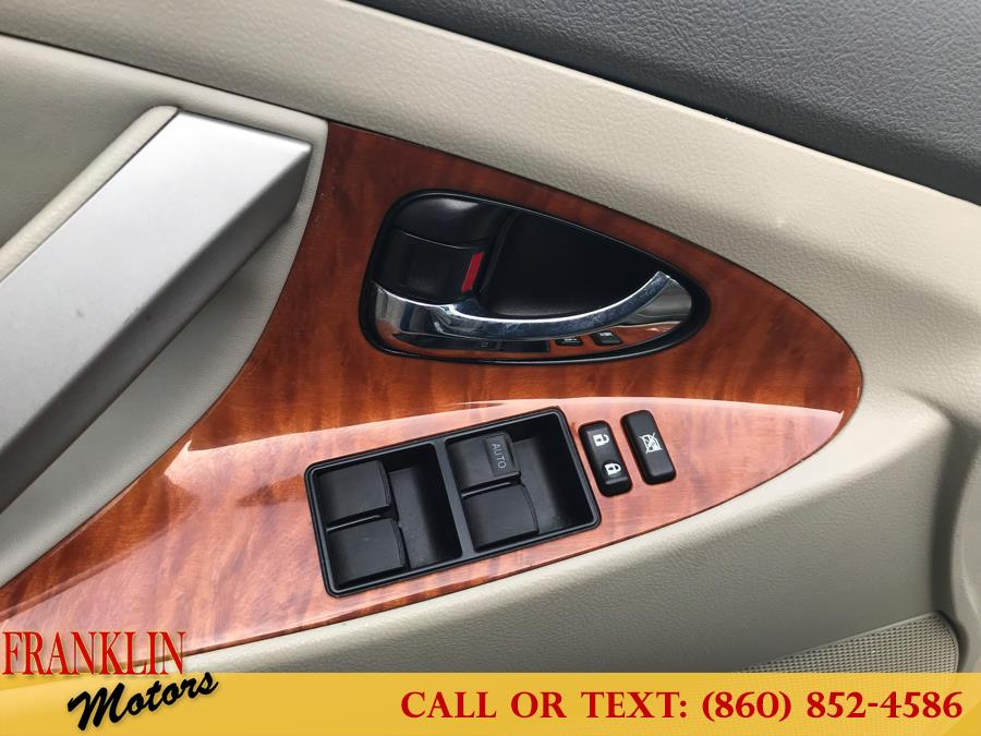 2009 Toyota Camry 4dr Sdn V6 Auto XLE, available for sale in Hartford, Connecticut | Franklin Motors Auto Sales LLC. Hartford, Connecticut