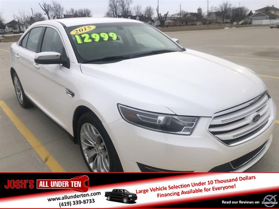 Used 2015 Ford Taurus in Elida, Ohio | Josh's All Under Ten LLC. Elida, Ohio