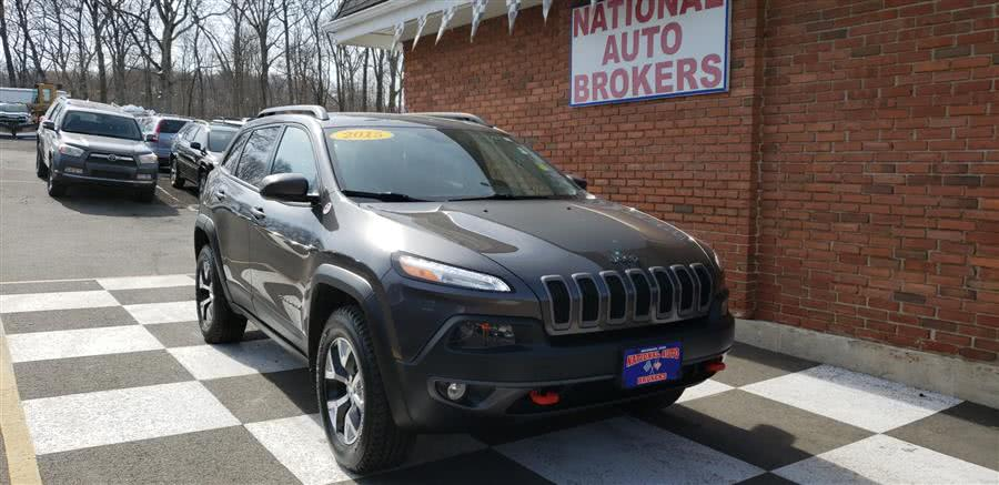 Used Jeep Cherokee 4WD 4dr Trailhawk 2015 | National Auto Brokers, Inc.. Waterbury, Connecticut